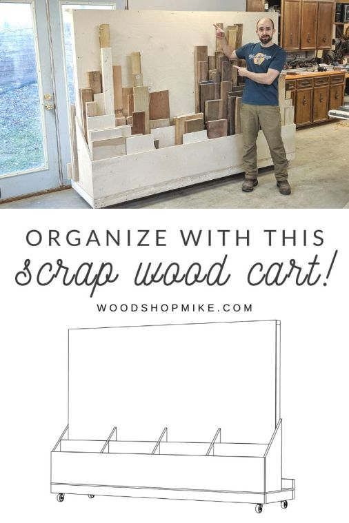 Build this scrapwood organizer