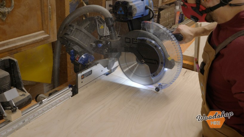 maximise your mitersaws crosscut capacity