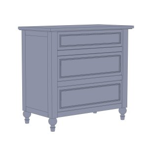 Cottage Style High Quality Custom Nightstand Plans