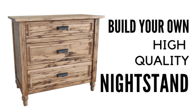 How to Build a High Quality Custom Nightstand