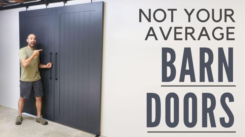 Not Your Average Barn Door
