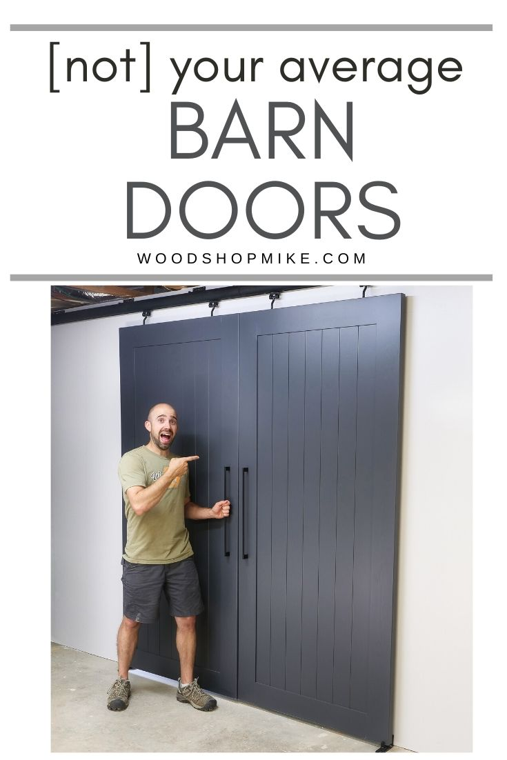 How to Build a Modern Barn Door