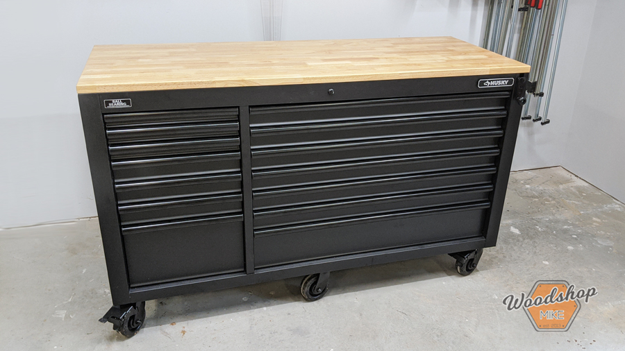 Husky Tools Adjustable Height Tool Chest