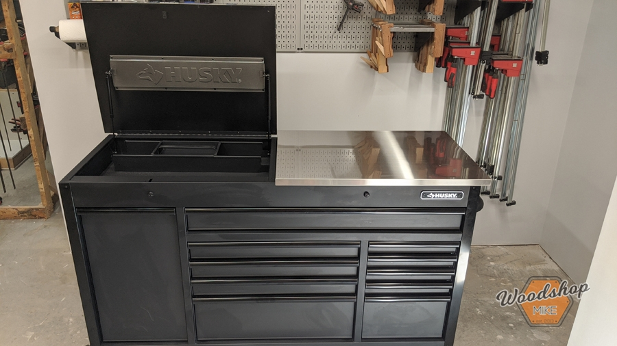 Husky Tools Flip-Top Tool Chest
