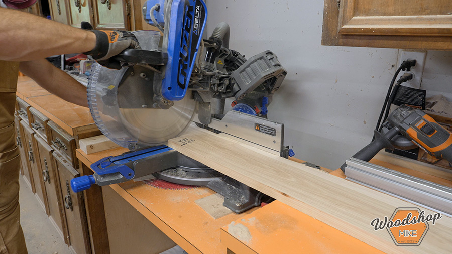 building face frames for a cabinet