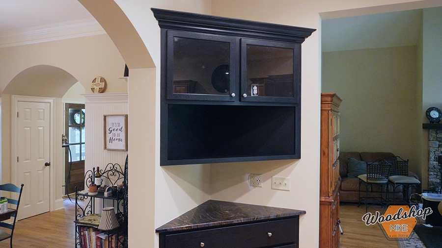 how to install corner cabinets