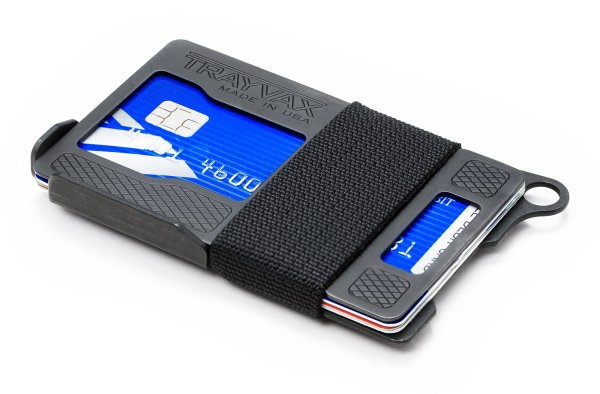 Trayvax Armored Summit Slim RFID Wallet Black