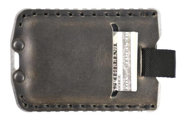 Trayvax Ascent Wallet Raw and Grey Slim Minimalist Wallet