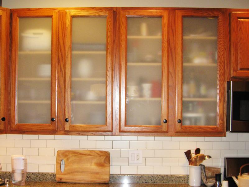 Glass Cabinet Doors  Woodsmyths of Chicago Custom Wood