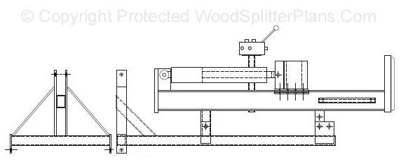 3-Point Hitch Vertical Wood Splitter Plans
