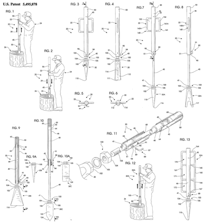 Hand Held Sliding Hammer Wood Splitter Plans