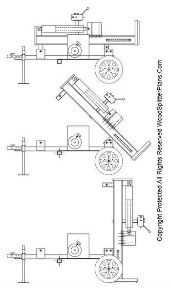 45 Ton Vertical Wood Splitter Plans