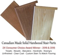 Wood Stairs Canada Your Components - Parts Shop