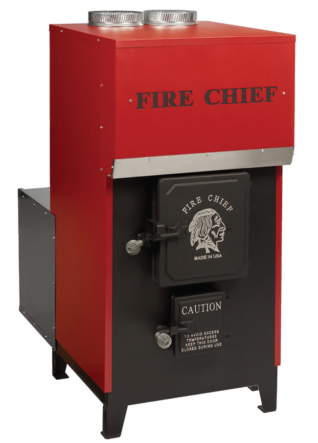Fire Chief EPA Certified FC1500 Forced Air Wood Furnace  FC1500