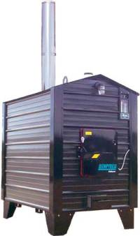 Pro-Fab Empyre 250 Outdoor Wood Boiler/Furnace ...