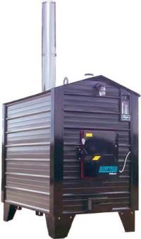 Pro-Fab Empyre 250 Outdoor Wood Boiler/Furnace ...