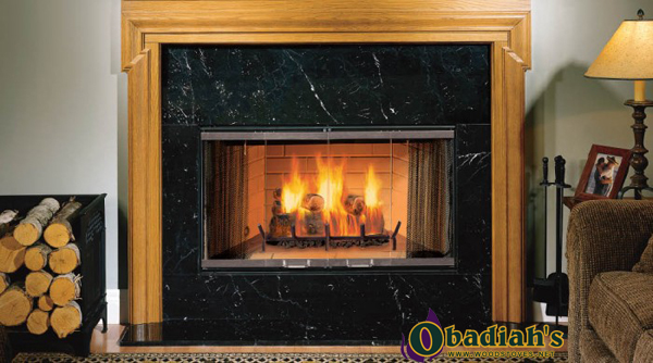Wood Fireplace Inserts Today Burning Pics Kits Reviews Prices Yebuzz Monessen Sovereign Sa42 Wood Fireplace At Obadiah's