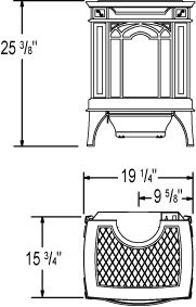 GVFS20 Napoleon Arlington™ Vent Free Stove by Obadiah's