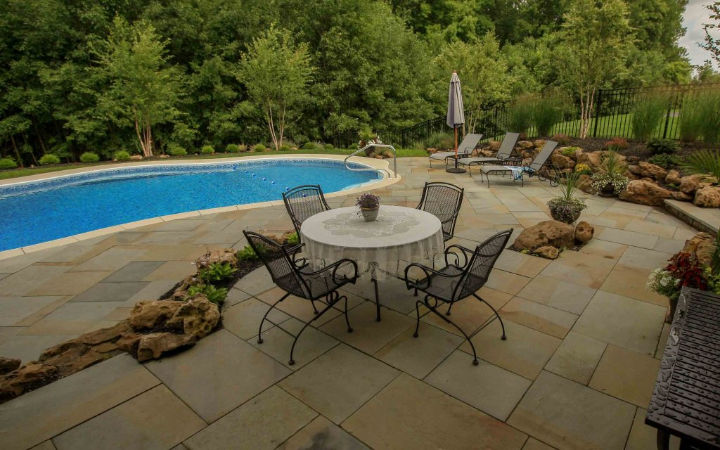 pool deign and installation example Rochester NY