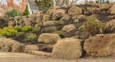 Boulder Retaining Wall Greece NY