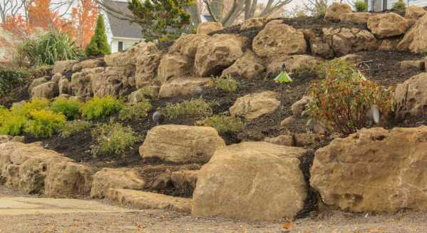 Boulder Retaining Wall Greece NY