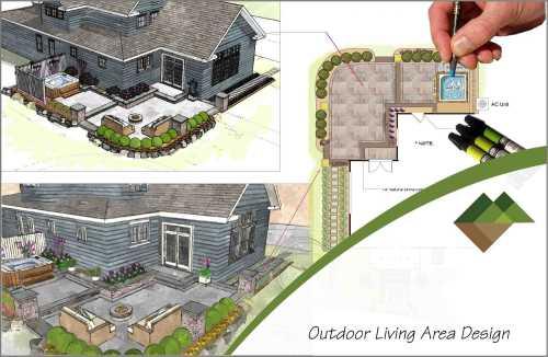 Landscape renovation design