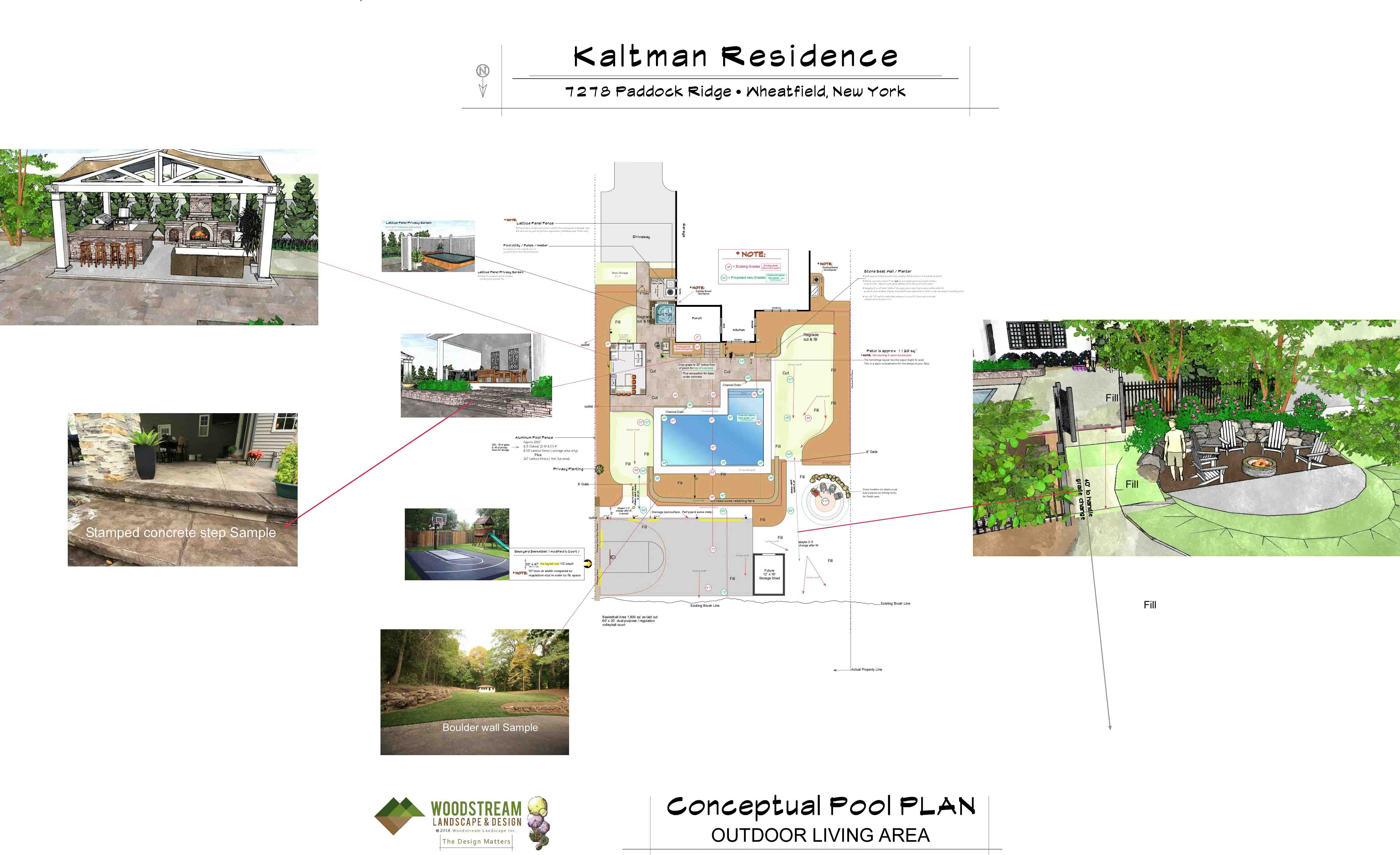 Inground Pool Design Rochester NY | Woodstream Pool Design