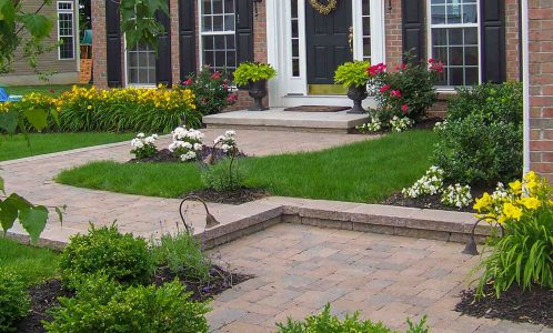 Front Yard Landscape Renovation Rochester NY