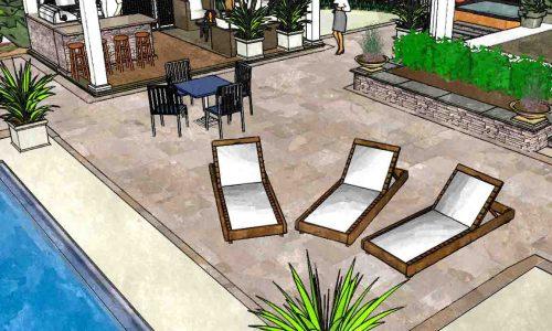 Pool Patio Design Rochester NY