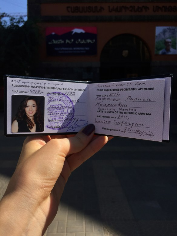 Larisa Safaryan | Honorary Member of the Artist Union of Armenia