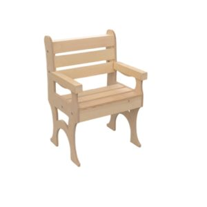 wooden skull chair exo posture backed poole sons inc sale outside deck