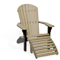 Poly Wood Adirondack Chairs Garden Swing Chair Singapore And Ottoman Recycled Thru The Ages