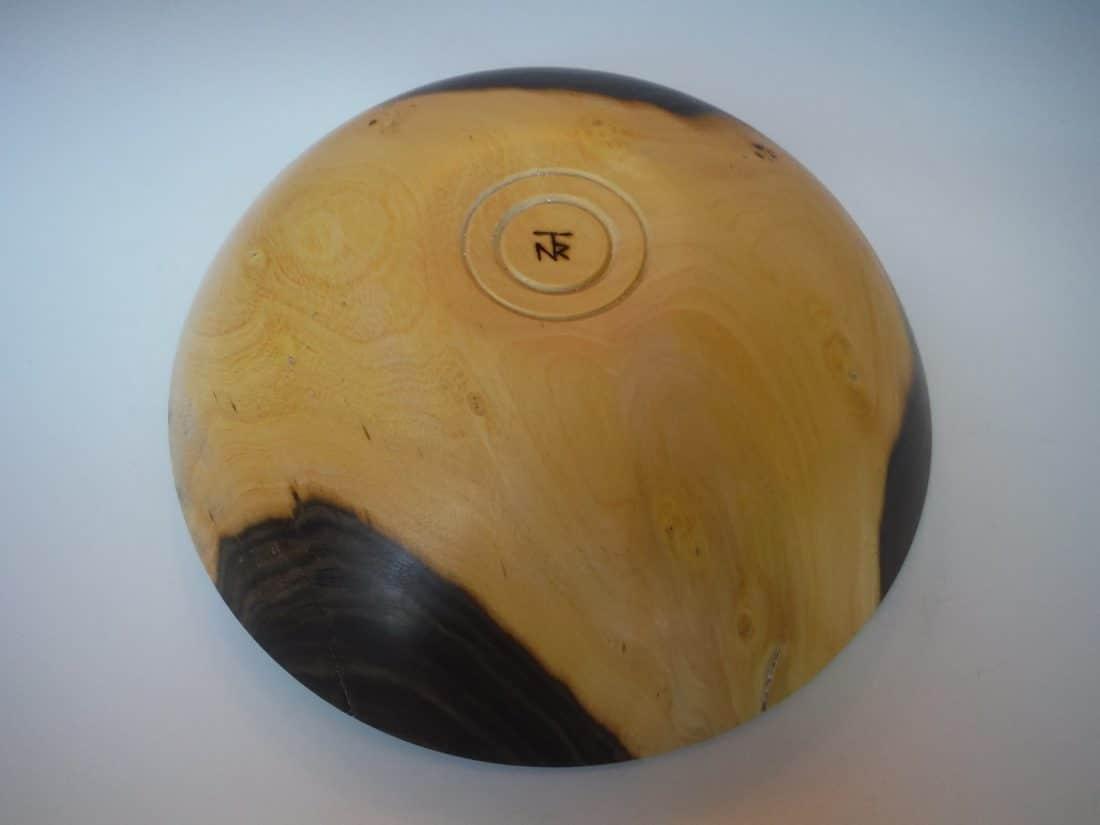 Texas ebony bowl
