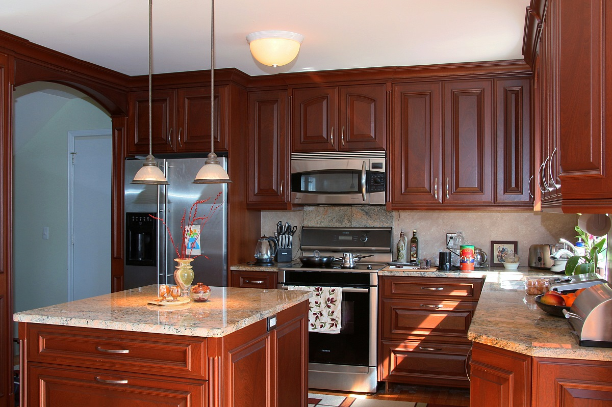 Build Kitchen Cabinet Doors Sapele Mahogany Kitchen