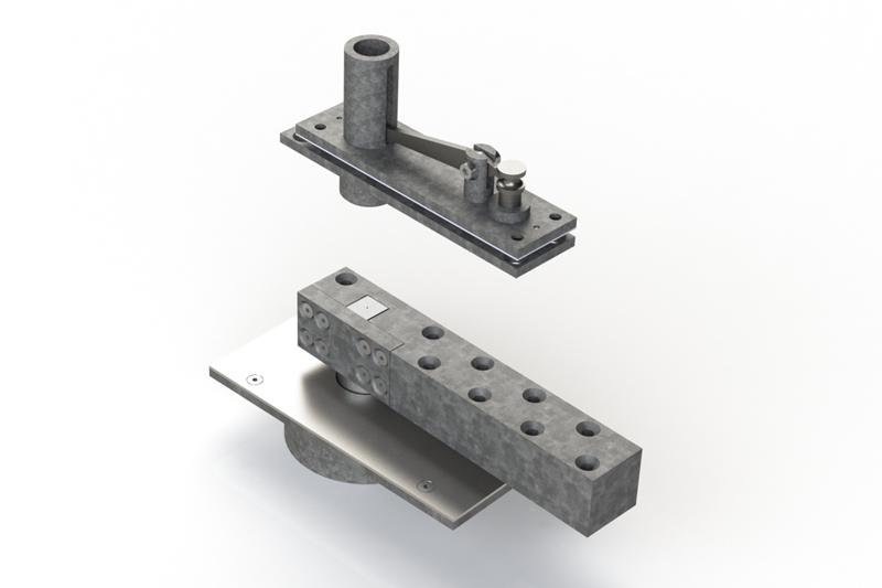 HW400PV-500 Pivot Set | Woodwood Door Controls