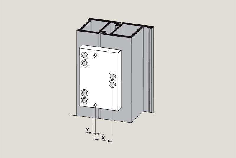Dormkaba Drill Jig   Woodwood Door Controls