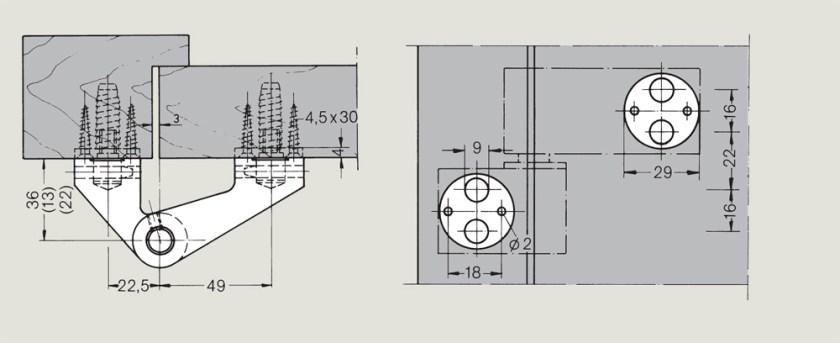 dormakaba LM Pivot Hinges   Woodwood Door Controls
