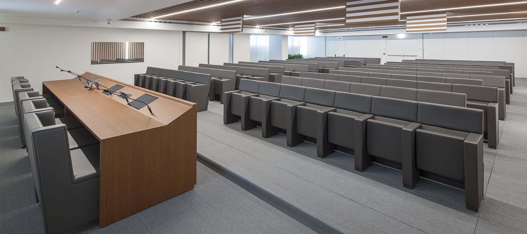 Conference & Auditorium Seating | Woodwood Group