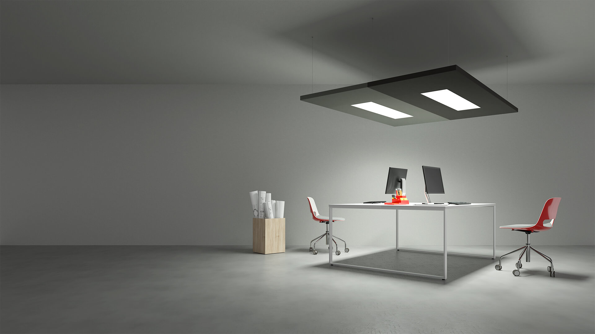 Caruso Nuvola LED Acoustic Lighting | Woodwood Group