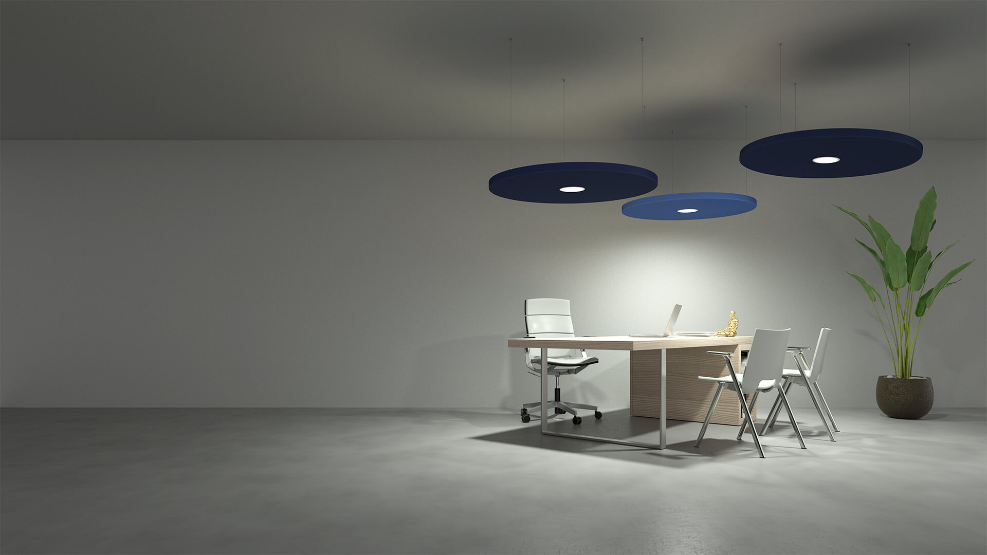 Caruso Dot LED Acoustic Lighting | Woodwood Group