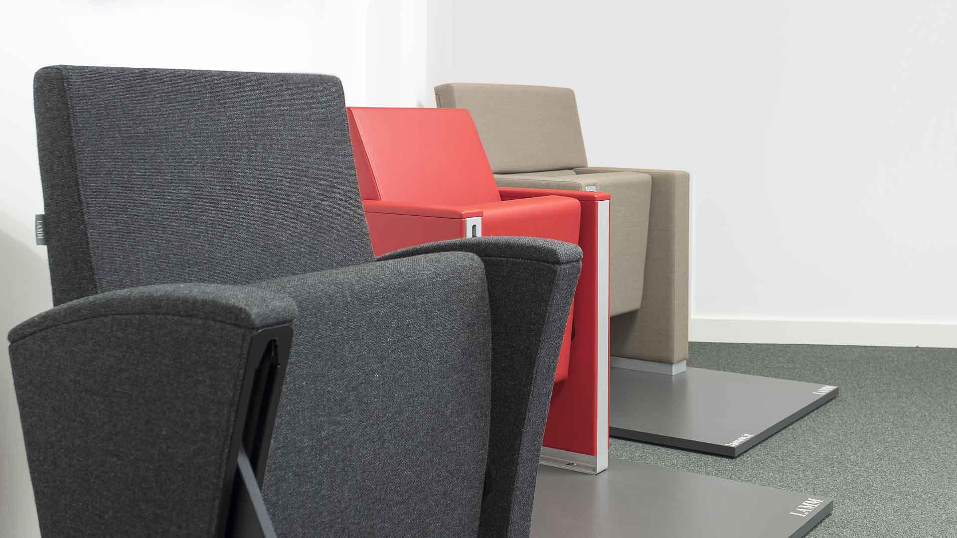 LAMM Seating at Woodwood Group Showroom