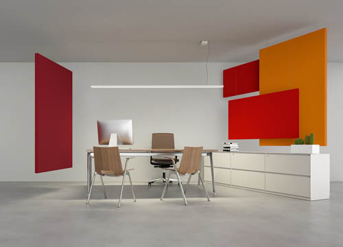 Caruso Flag Acoustic Panel   Woodwood Group