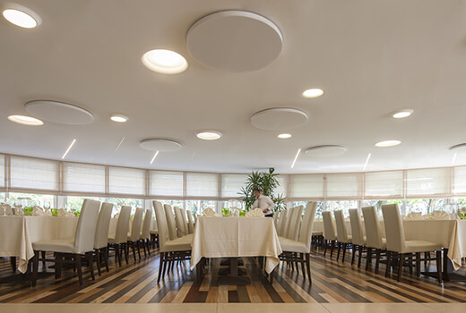 Restaurant Acoustics | Woodwood Group