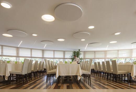 Restaurant Acoustics   Woodwood Group