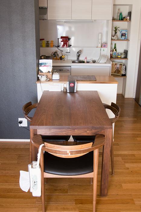 亜和座チェア3脚とスタンダードテーブル・タイプ2