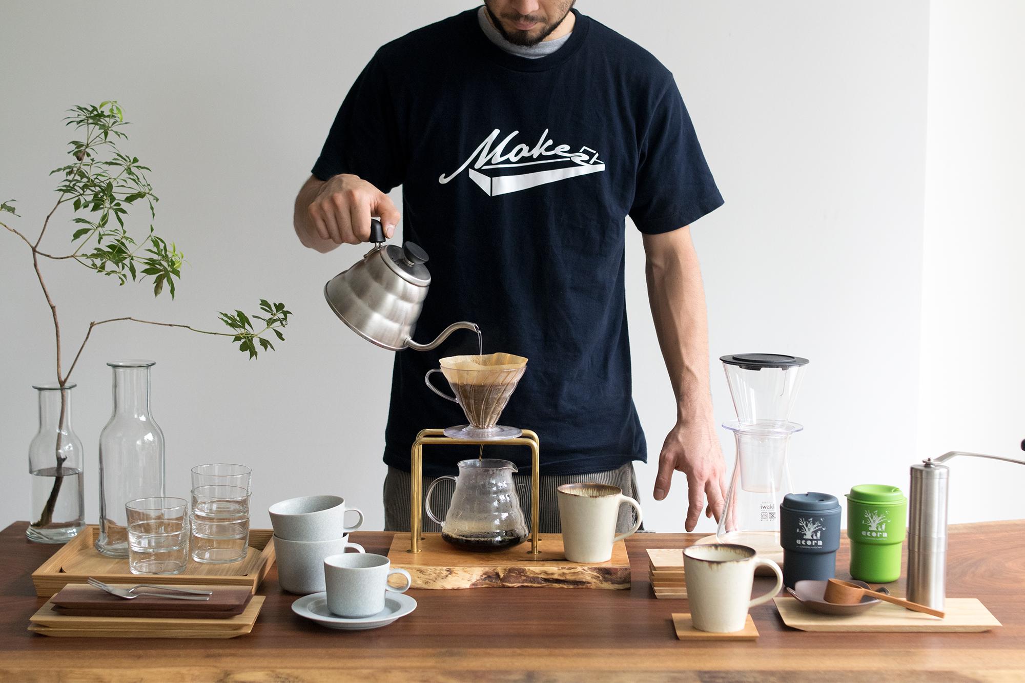 kittaki coffee drip stand