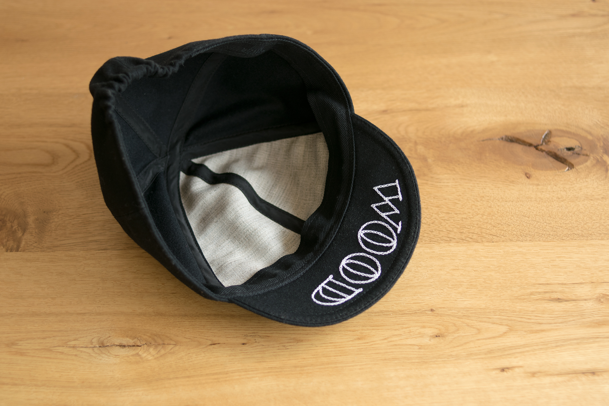 SUPER CLASSIC CROWN × WOODWORK ciclecap