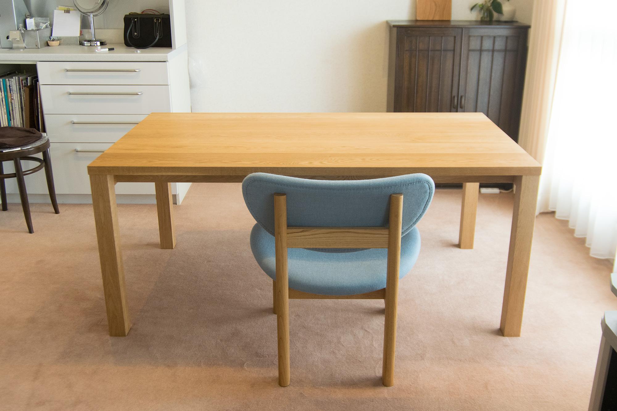 ナラ テーブル スタンダードテーブル・タイプ2