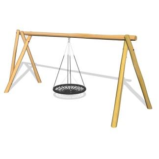 Woodwork AB-Gungställning med multiswinggunga