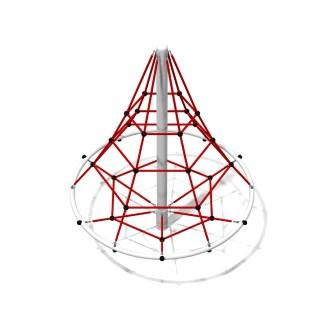 Woodwork AB-Roterande klätterpyramid i stål